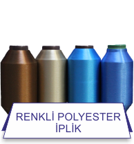 Renkli Polyester İplik