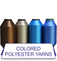 Colored Polyester Yarns